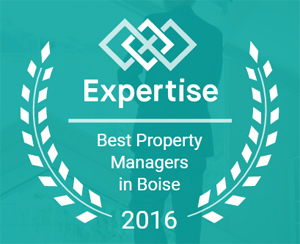 Winner of top 20 Property Managers in Boise 2016