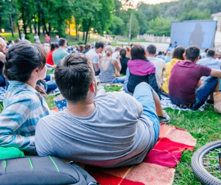 outdoor movie treasure valley
