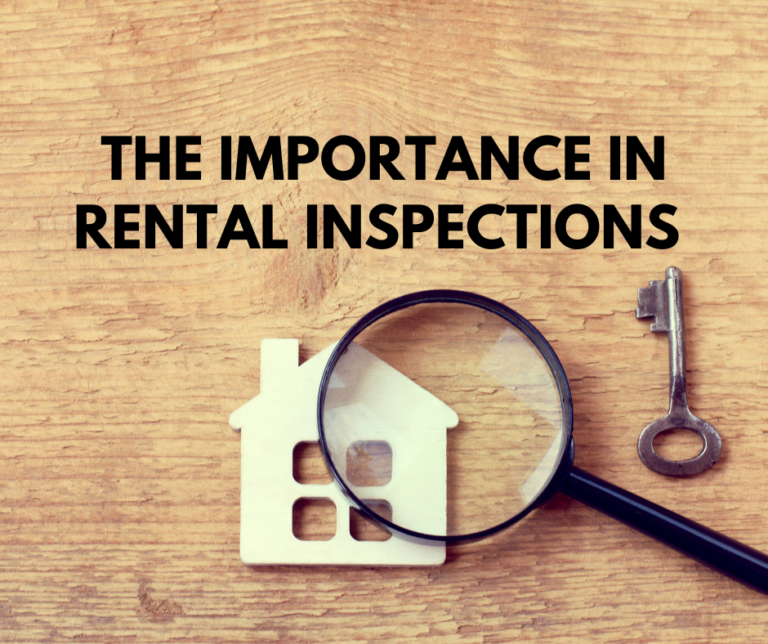 The Importance of Rental Inspections